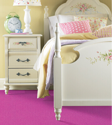 Carpet Bedroom Pink Floor